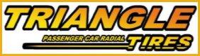 A TRIANGLE autógumi gyártó logója.