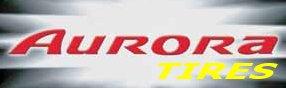 A AURORA autógumi gyártó logója.