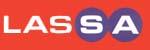 A LASSA autógumi gyártó logója.